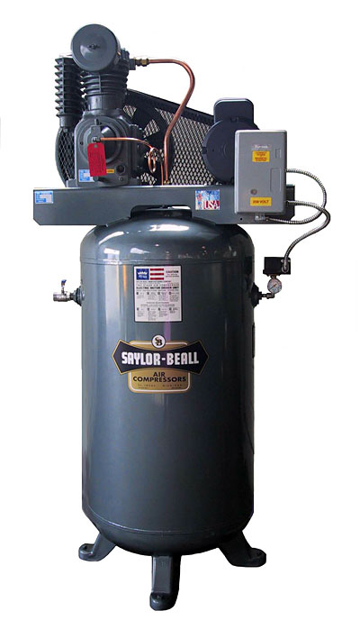 Saylor Beall 5 Hp.  Air Compressor